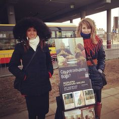 #jehovahswitnesses. Public witnessing in Poland. Photo shared by @taamii93