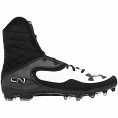 Under Armour Cam Highlight MC Mens Football Cleats - Black/Metallic Silver - $159.95 Cam Newton's Football Cleats