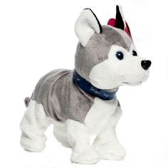 Lovely Electronic Dogs Pets Sound Control Interactive Robot Toy Dog Bark Stand Walk Electronic Pet Toys Christmas Gift For Kids