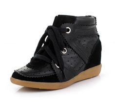 Isabel Marant High-top Sneakers Bekket Pure Black
