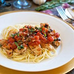Zesty Chicken with Capers and Olive