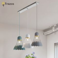 Cheap pendant lights, Buy Quality lighting restaurants directly from China creative light Suppliers: Nordic simple bar hanging lamp Badminton Pendant Light restaurant, bedroom, bedside lights, modern art and creative lighting