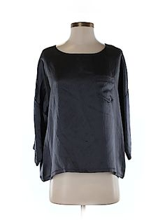 Marc by Marc Jacobs Women 3/4 Sleeve Silk Top Size S