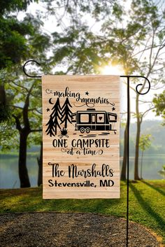 Happy Campers, Gifts For Campers, Camping Gifts, Camping Stuff, Camping Glamping, Diy Camping, Camping Hacks, Outdoor Camping, Camping Signs Personalized