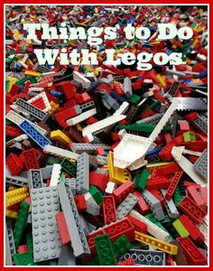 Inspired by a recent trip to LEGO Kids Fest in Phoenix, here are 15 things to do with LEGOS.