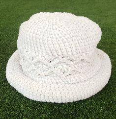 0a83fed2574 Vintage 90 s Grey Pattern Bucket Hat   Floppy Crocheted   Dad Hat    Festival Gear   Vintage   Gray. Etsy