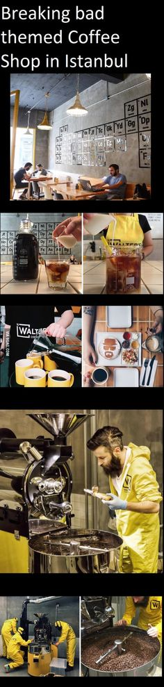 Breaking Bad themed Coffee Shop (Istanbul) isn't this great?
