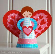 Sweet Valentine Angel from Jenny B.  #allsorts
