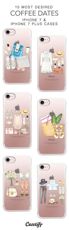 15 Most Desired Coffee Dates Protective iPhone 7 Cases and iPhone 7 Plus Cases. More Fashion iPhone case here > https://www.casetify.com/collections/top_100_designs#/?vc=LLnU3ofNzK
