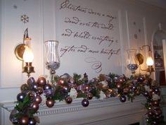 13 Marvelous Christmas Mantel Decorations. I'm Definitely Doing # 5.