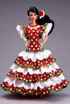 it is a MEXICAN barbie!!!This means a lot to me because  my dad is from mexico and i<3 BARBIES!!!!!!!!!!!!!!!!!!!!!!!!!!!!!!!