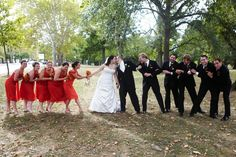 cute bridal party photo