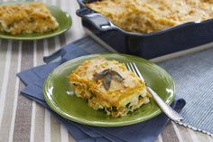 Vegetarian butternut squash lasagna perfect for family gatherings. The bright orange of the butternut squash looks lovely on any table.
