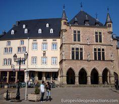 Echternach en Gran Ducado de Luxemburgo