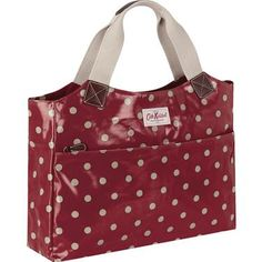 £75.00, Our Spot business bag has been specially designed to carry all your office essentials. Made from durable oilcloth, it's easy to care for and has padded protection to save your laptop from knocks and scratches. Fits laptops up to 13 inches in one of our laptop sleeves. This design also features a perfectly sized pocket for your iPad.