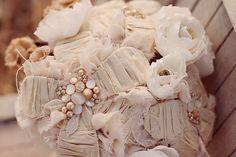 handmade woodland bouquet