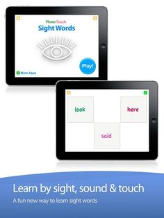 Sight Words Education App for Children