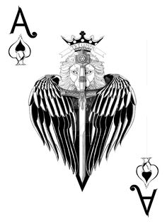 Ace Of Spade by LADYLlONESS.deviantart.com on @DeviantArt