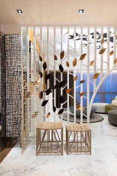 38/F-39/F Mandarin Oriental Apartments by PplusP Designers