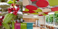 SoundScapes® Shapes Acoustical Clouds  http://www.armstrong.com/commceilingsna/article40471.html:
