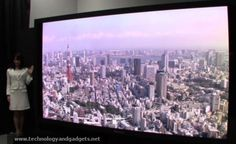 New Panasonic NHK 145-Inch 8K Ultra HD Plasma Display Is World's First Ultra HD Plasma TV