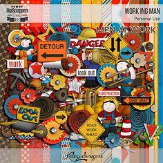 Work Ing Man by Keley Designs