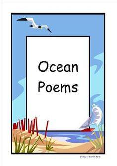 Ocean Poems FREE for Terrie!