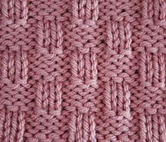Ravelry: 4x2 Basket Weave pattern by craftcookie