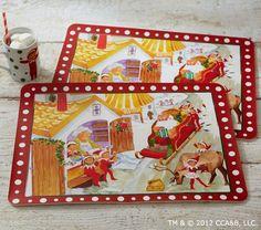 The Elf on the Shelf®Place MatSet | Pottery Barn Kids