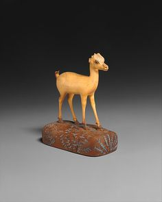 Gazelle, ca. 1390–1353 B.C. Egyptian. The Metropolitan Museum of Art, New York.  Purchase, Edward S. Harkness Gift, 1926 (26.7.1292)