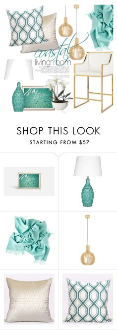 """coastal living room"" by ghomecollection ❤ liked on Polyvore featuring interior, interiors, interior design, home, home decor, interior decorating and living room"