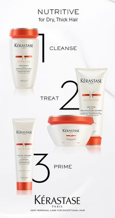 Kerastase Nutritive Irisome is a nourishing solution designed to make hair irresistibly soft to the touchtargets dry hair symptoms at the core.
