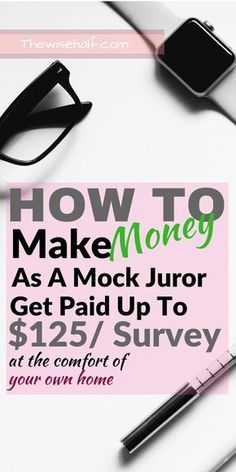 make money as a mock juror Learn how to make money from home and then have legit passive income.click this pin for more. make money from home,make money from home legit,make money from home fast,make money online,make money online legit Ways To Earn Money, Earn Money From Home, Money Saving Tips, Way To Make Money, Money Tips, Money Fast, Money Hacks, Need Money Now, Earn Money Online Fast