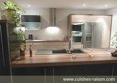 belles cuisines - Recherche Google Recherche Google, Bathroom Lighting, Mirror, Furniture, Home Decor, Beautiful Kitchens, Bathroom Light Fittings, Bathroom Vanity Lighting, Decoration Home