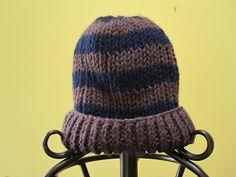 Super easy knit hat