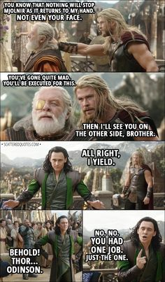 Quote from Thor: Ragnarok (2017)