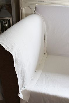 How to make a sectional slipcover, step-by-step. Confessions of a Serial Do-it-Yourselfer