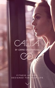 Calia by Carrie Underwood workout clothes.  Uh I'm pretty freaking excited about her line of active wear!