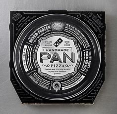 Domino's Handmade Pan Pizza boxes