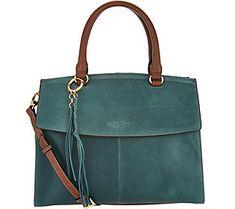 Tignanello Vintage Leather Convertible Shopper