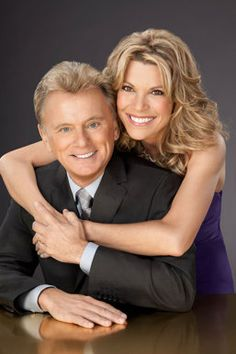 Wheel of Fortune: Pat Sajak and Vanna White Girl Celebrities, Celebs, Wheel Of Fortune Game, Best Plastic Surgeons, Vanna White, Lets Play A Game, Tv Couples, Famous Faces, People