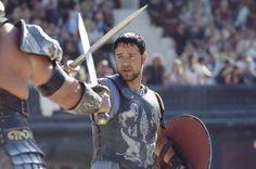 """Рассел Кроу в роли Максимуса, «Гладиатор» / Russell Crowe, """"Gladiator"""" (реж. Ридли Скотт, США, 2000) #гладиатор #кроу #ридлискотт #фильм"""