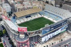 The Mestalla Stadium is a football venue, located in Valencia, Spain. It was opened to the spectators on May 1923 after a span of few months of constructio. Soccer Stadium, Football Stadiums, Football Soccer, Valencia Club, Fifa, Paisley Scotland, Association Football, Gillette Stadium, Football Is Life