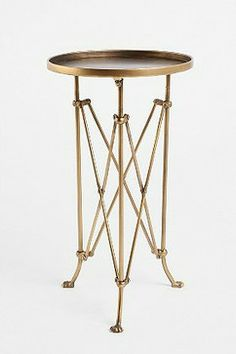 Metal Accordion Side Table - eclectic - side tables and accent tables - Urban Outfitters