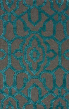 viscose/wool NuLoom rug, burkedecor.com