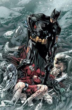 Justice League of America by Bryan Hitch Batman Superman WonderWoman Batman Vs Superman, Poster Superman, Posters Batman, Batman Artwork, Spiderman, Marvel Dc Comics, Dc Comics Art, Captain Marvel, Captain America