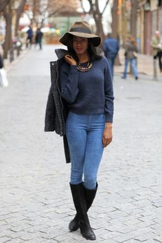 Nya New York | Hat and Boots