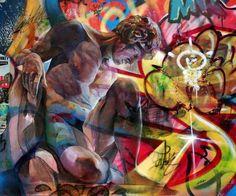 Pichi Avo ART FAVORITES Pinterest Street Art Graffiti - Beautiful giant murals greek gods pichi avo