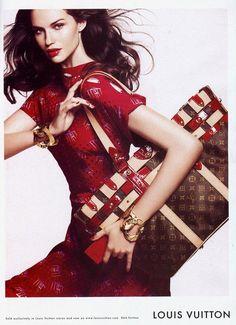 Louis Vuitton Advertising / photographer: Daniel Jackson #fashion #advertising #studio #models