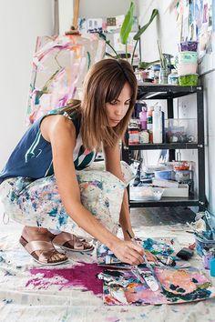 Annie Everingham Homewares Online, Mark Making, Art Studios, Annie, Photoshoot, Artists, Creative, Photography Ideas, Illustration